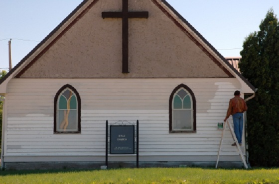 Blog Post 53 - Painting Church (iStock_000002459773XSmall)