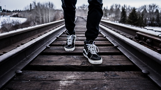 Blog Post 56 - Footprint on Railroad (Unsplash - photo-1456894332557-b03dc5cf60d5)1