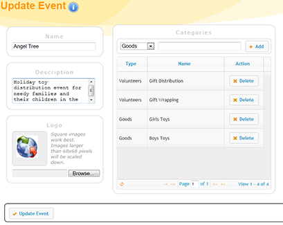 Event Management Software Needs